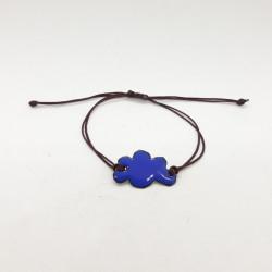 Bracelet nuage bleu