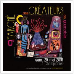Grenoble, Marché de créateurs
